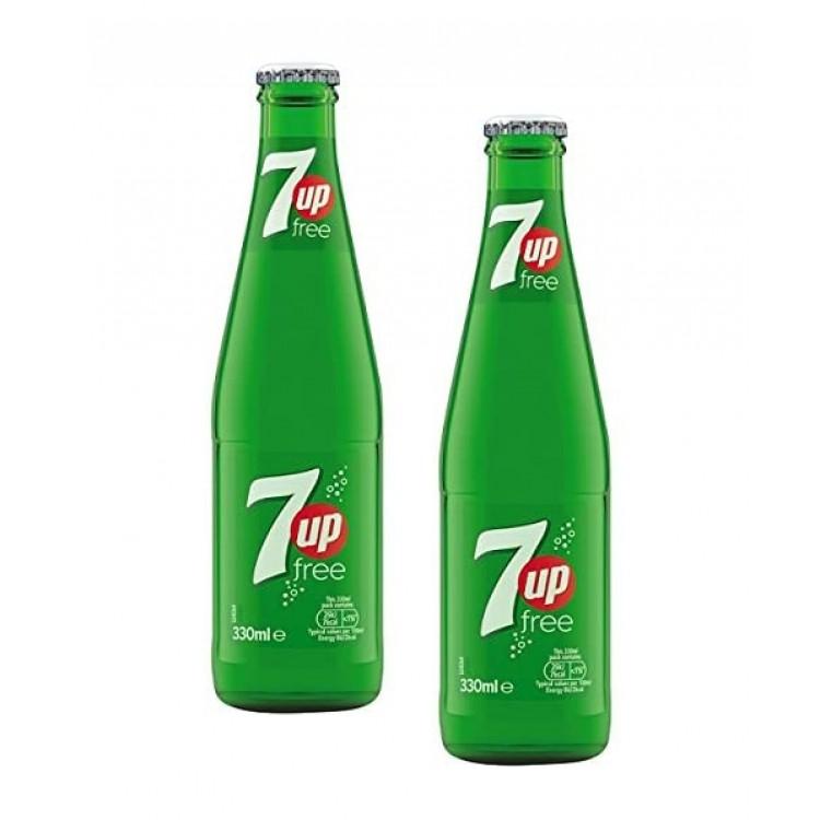 7UP Free Glass Bottled Soft Drink - 2 For £1