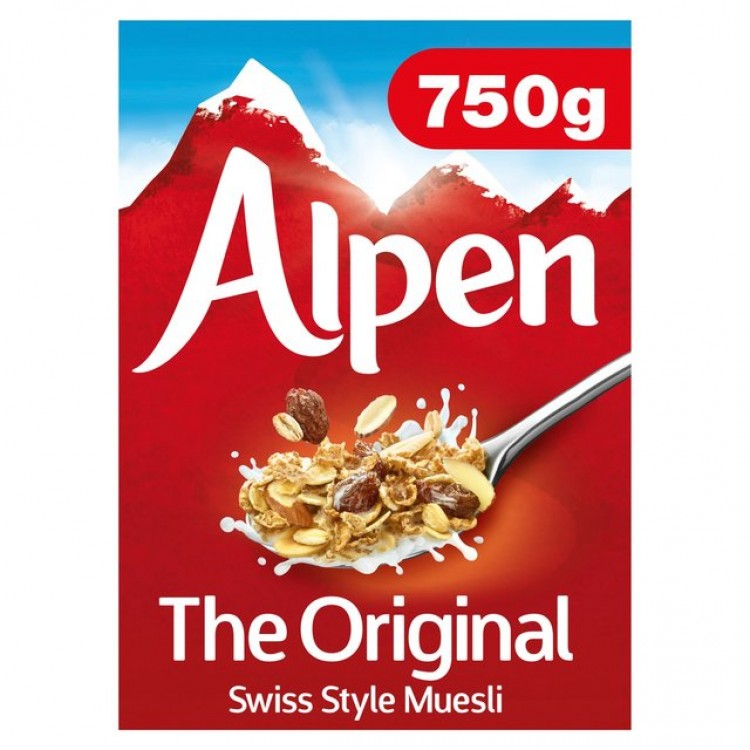 Alpen Original Cereal 750g
