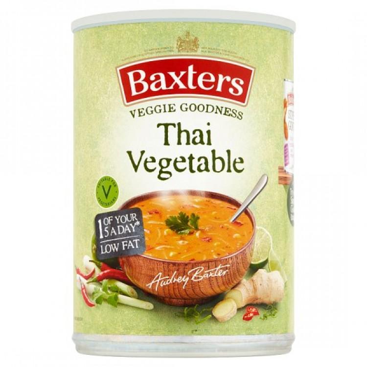 Baxters Thai Vegetable Soup 400g