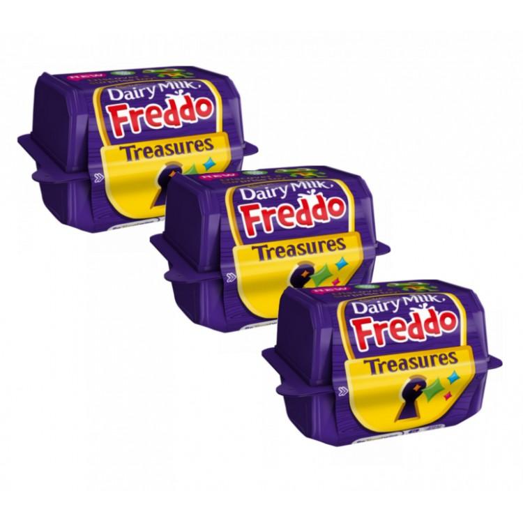 Cadburys Dairy Milk Freddo Treasures Chocolate & Toy - 3 For £1