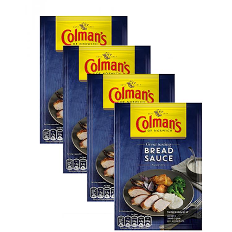 Colmans Bread Sauce Mix Sachet 40g - 4 For £1