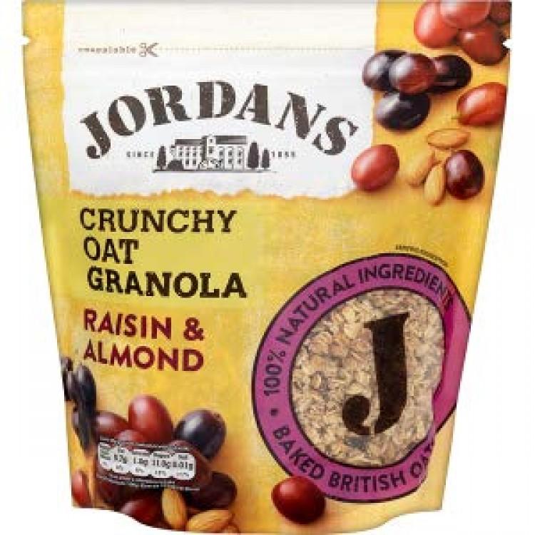 Jordans Raisin & Almond Crunchy Granola Cereal 750g