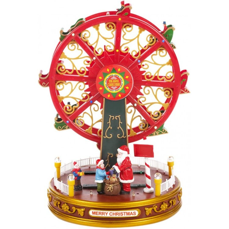 Musical Animated Multi-Coloured LED Lights Ferris Wheel