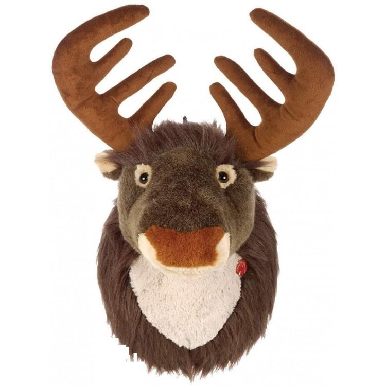 Singing Reindeer Head Battery Operated