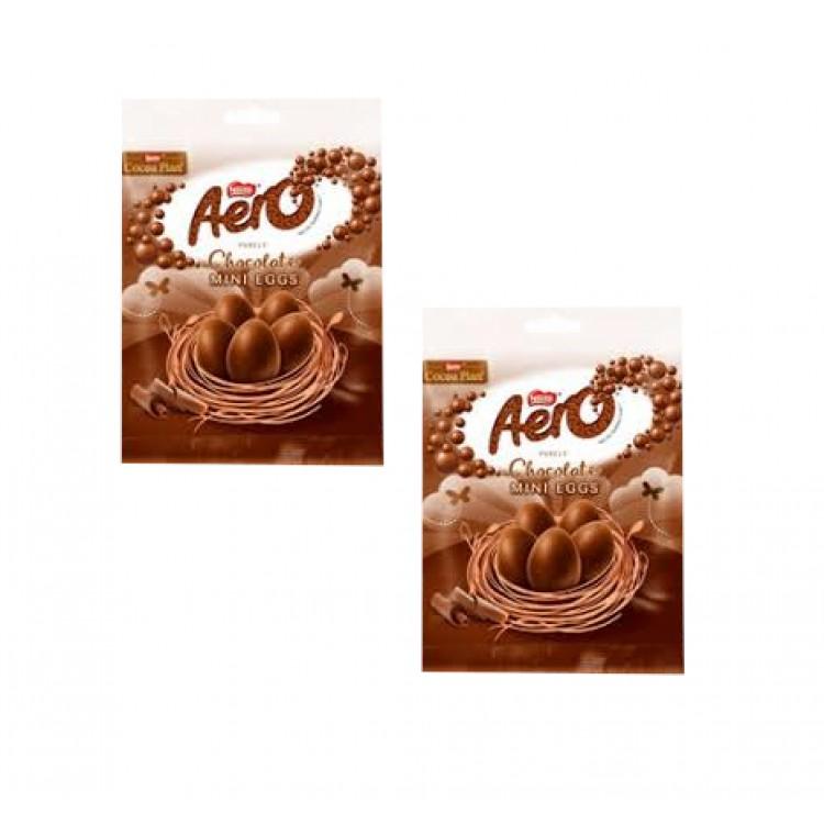 Aero Chocolate Mini Eggs - 2 For £1