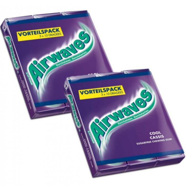 Airwaves Menthol & Eucalyptus (3pack) - 2 For £1