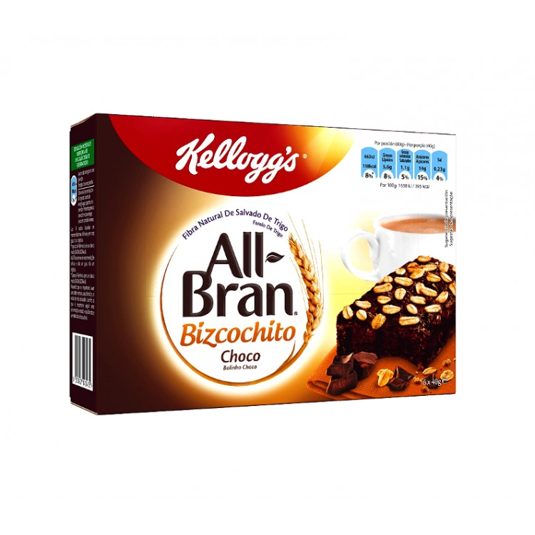 All Bran Bizcochito Choco Bars 6pk