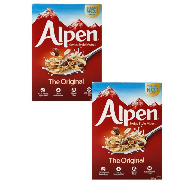 Alpen Original Cereal 375g 2 For £1