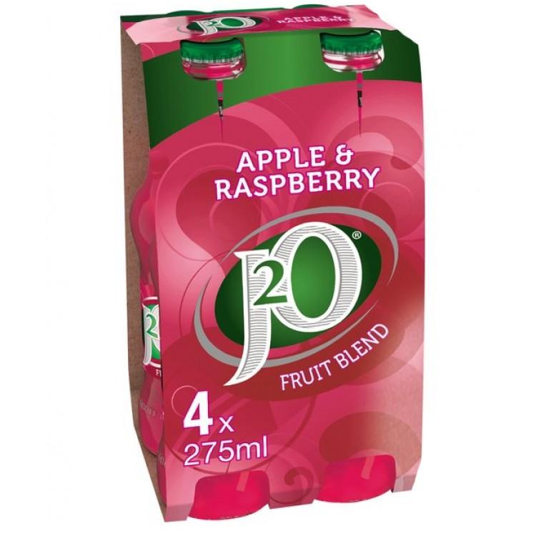 Apple & Raspberry J2O 4 x 275ml Bottles