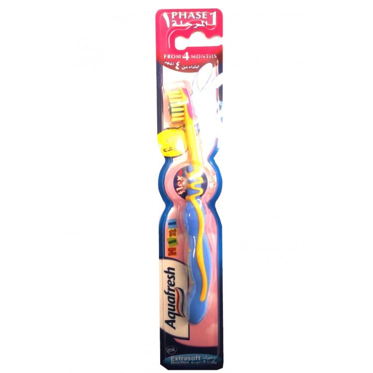 Aquafresh Mini Toothbrush Extrasoft - Assorted Colours