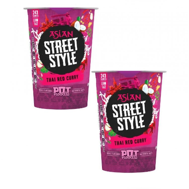 Asian Street Style Thai Red Curry 69g - 2 For £1