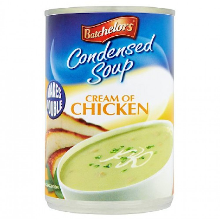 Bachelors Condensed Cream of Chicken Soup