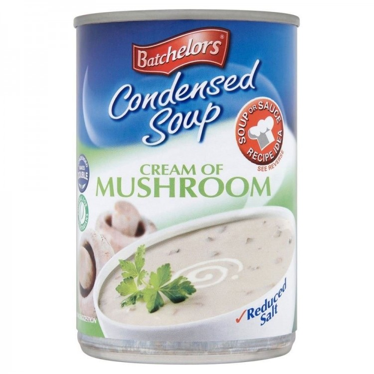 Bachelors Condensed Soup Cream of Mushroom 295g