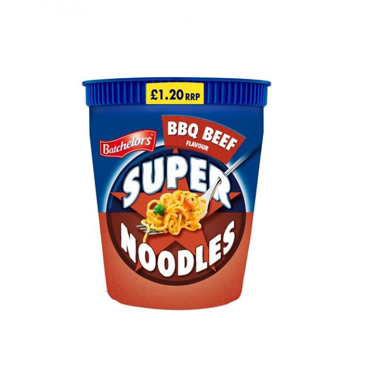 Bachelors Super Noodles BBQ Beef 75g