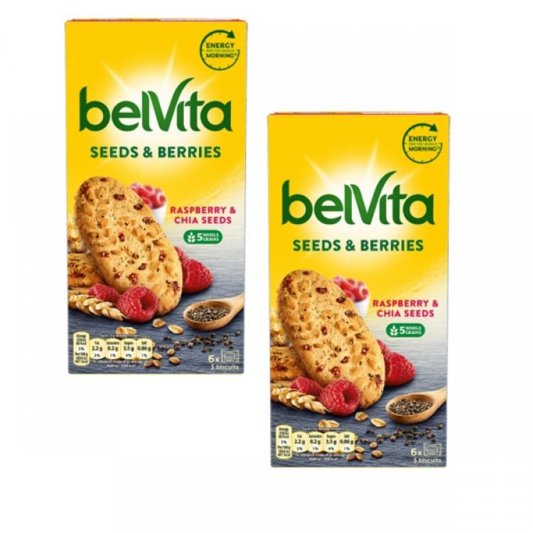 Belvita Raspberry & Chia Seeds 270g - 2 For £1.50