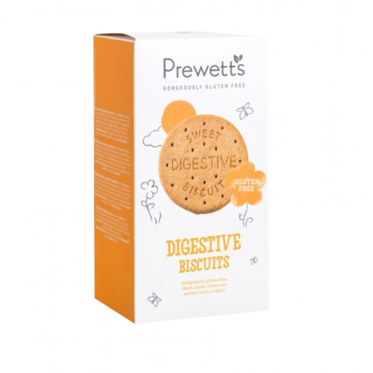 Prewetts Digestive Biscuits Gluten Free