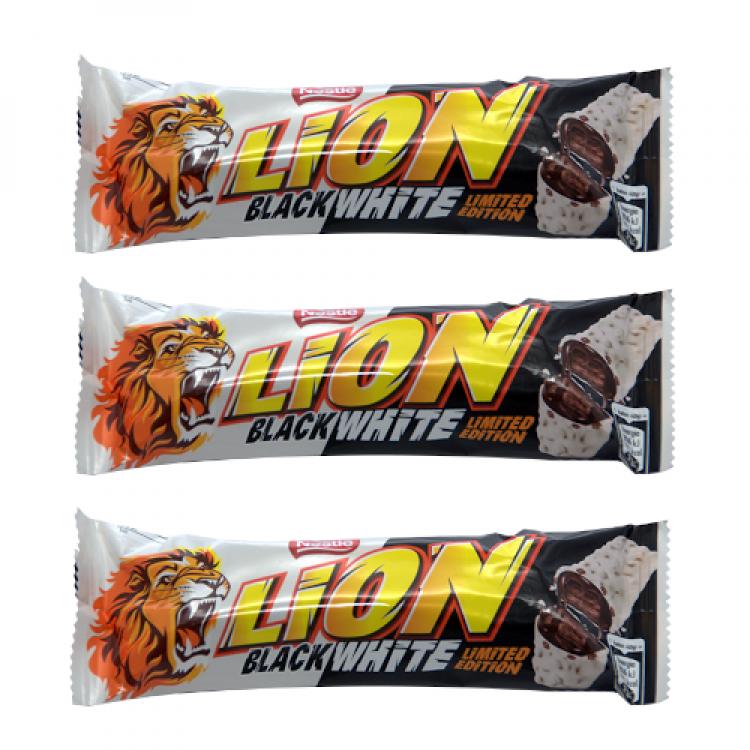 Nestle Black/White Lion Bar 40g - 3 For £1
