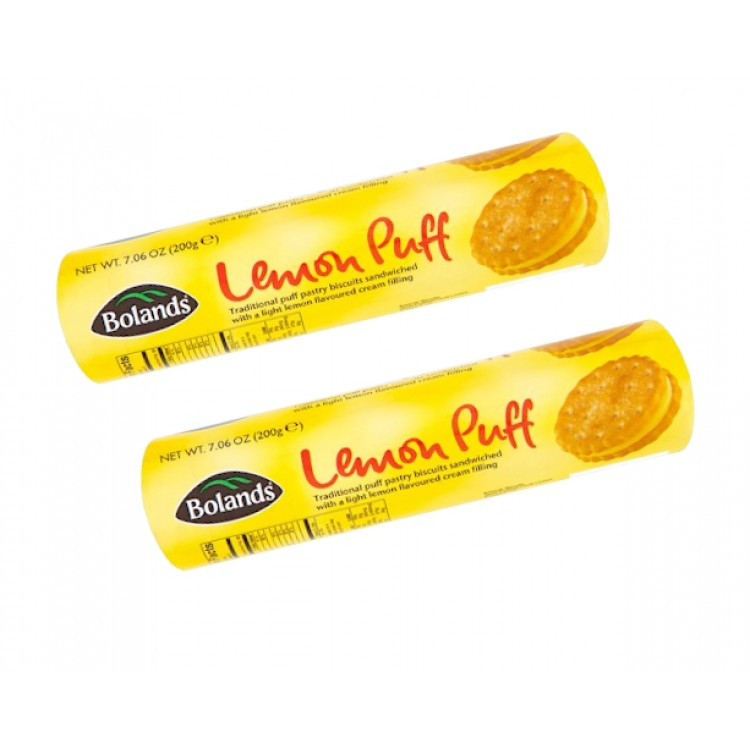 Bolands Lemon Puff Biscuits 200g - 2 For £1