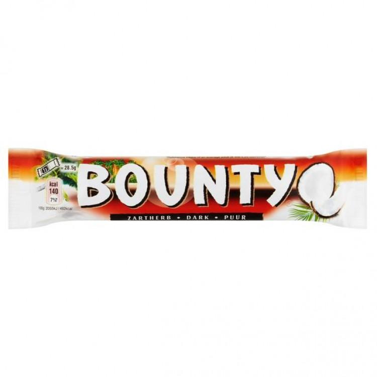 Bounty Dark Chocolate 57g - CASE PRICE x 24
