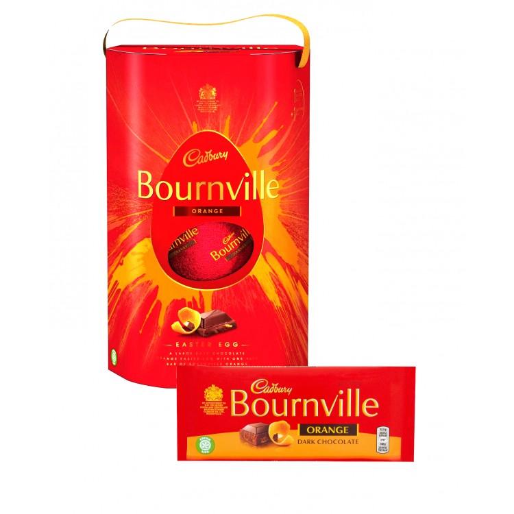 Cadbury Bournville Orange Dark Chocolate Egg 280g