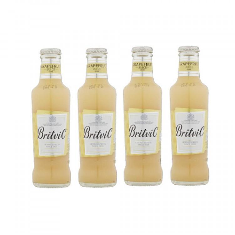 Britvic Grapefruit Juice Drink 200ml - 4 For £1