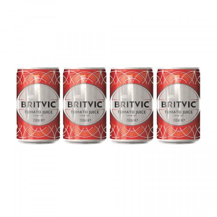 Britvic Tomato Juice Cocktail 150ml - 4 For £1
