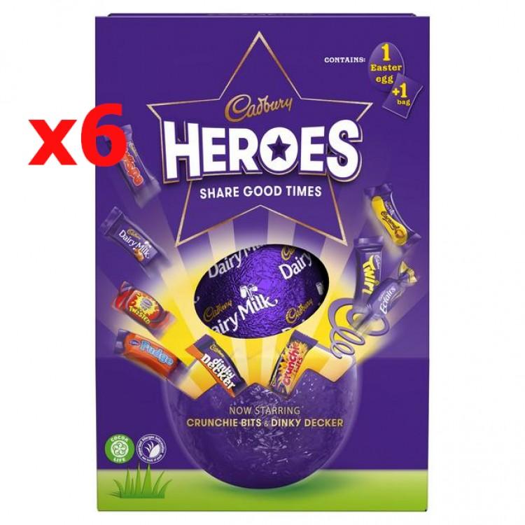 Cadbury Hero Eggs 6 x case price