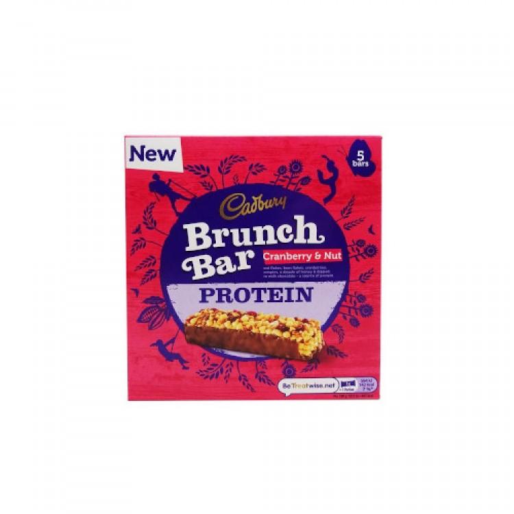 Cadburys Brunch Bar Cranberry & Nut Protein 5pk