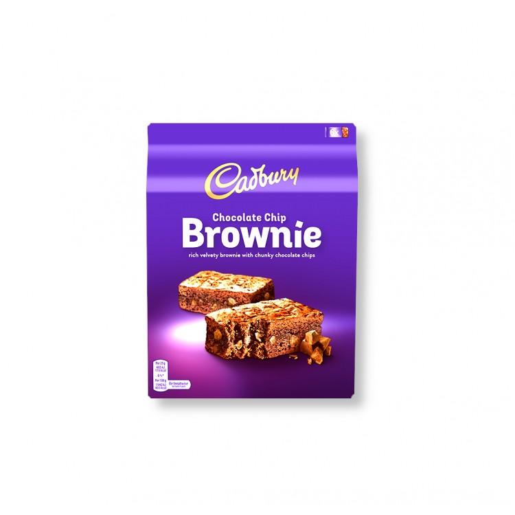 Cadbury Chocolate Chip Brownies 6pk