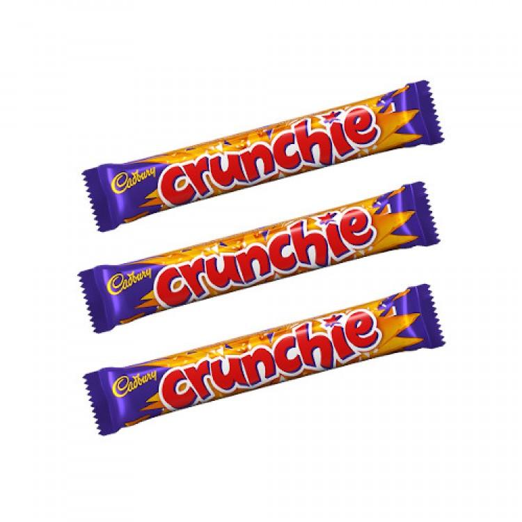 Cadburys Crunchie Bar 40g - 3 for £1