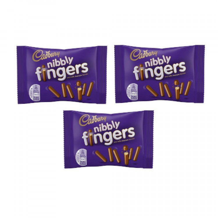 Cadbury Nibbly Fingers 40g - 3 For £1