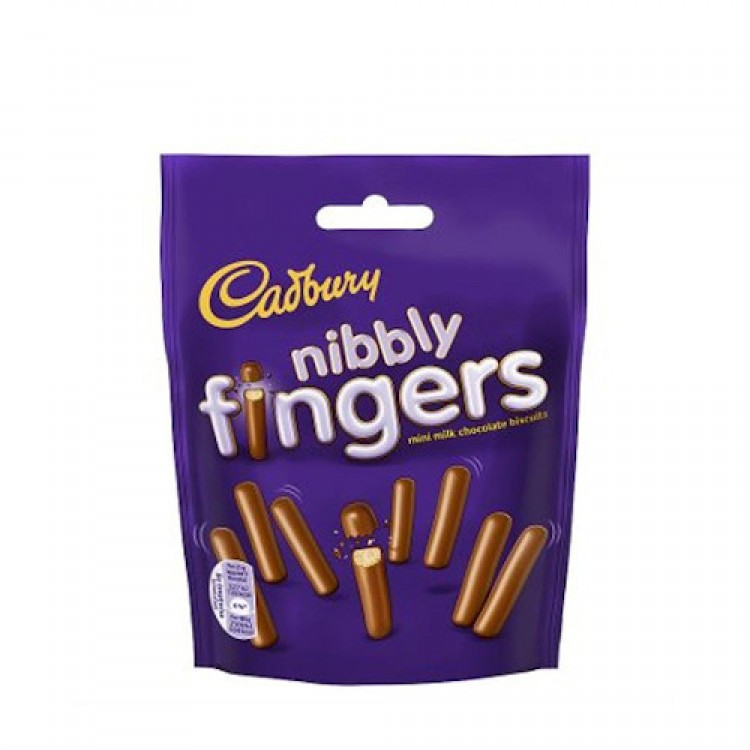 Cadburys Nibbly Fingers 125g
