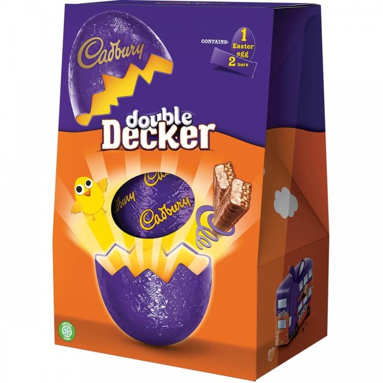Cadburys Double Decker Easter Eggs 287g - £1