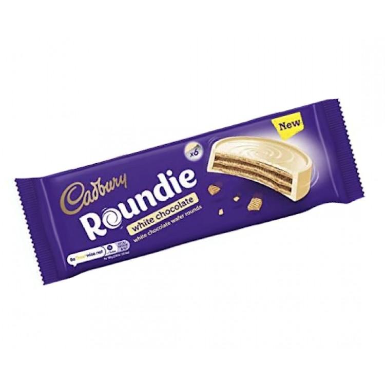 Cadbury Roundie White Chocolate 6pk