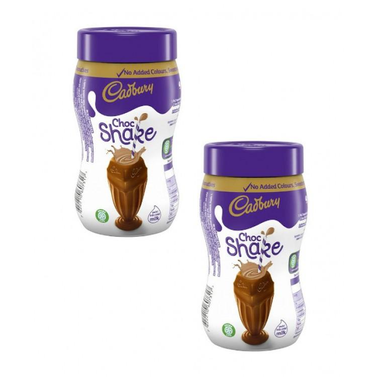 Cadburys Chocolate Shake Powder 280g - 2 For £1