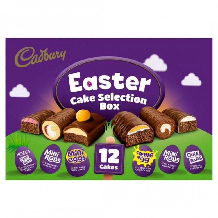 Cadbury Easter Cake Selection Box (12pack)