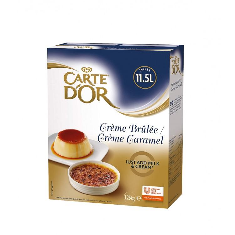 Carte D'or Cremé Brulée 1.25kg Cater Pack