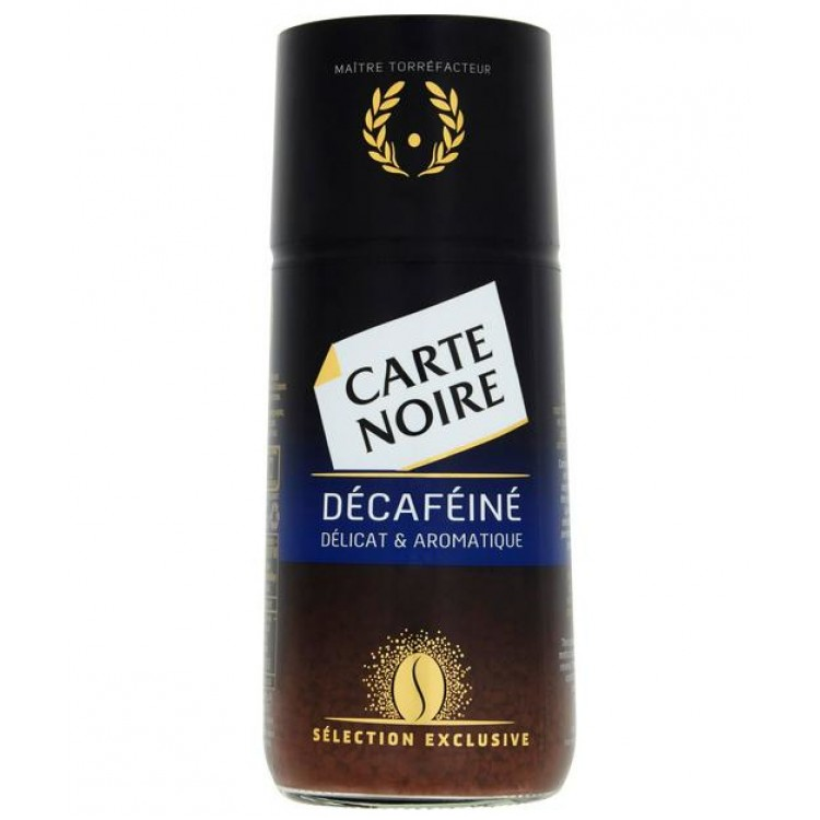 Carte Noire Decaffeinated Instant Coffee 100g