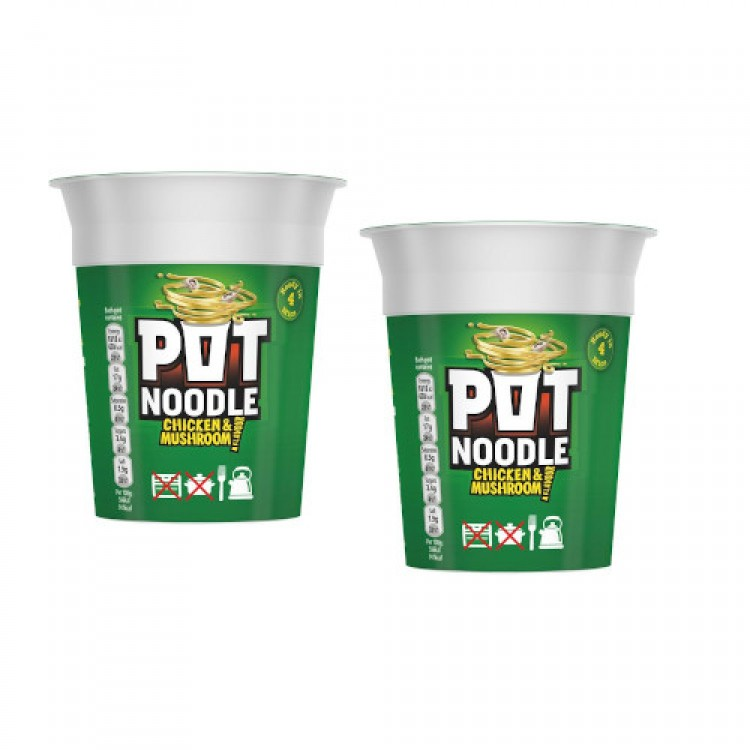Pot Noodle Chicken & Mushroom 90g - 2 For £1