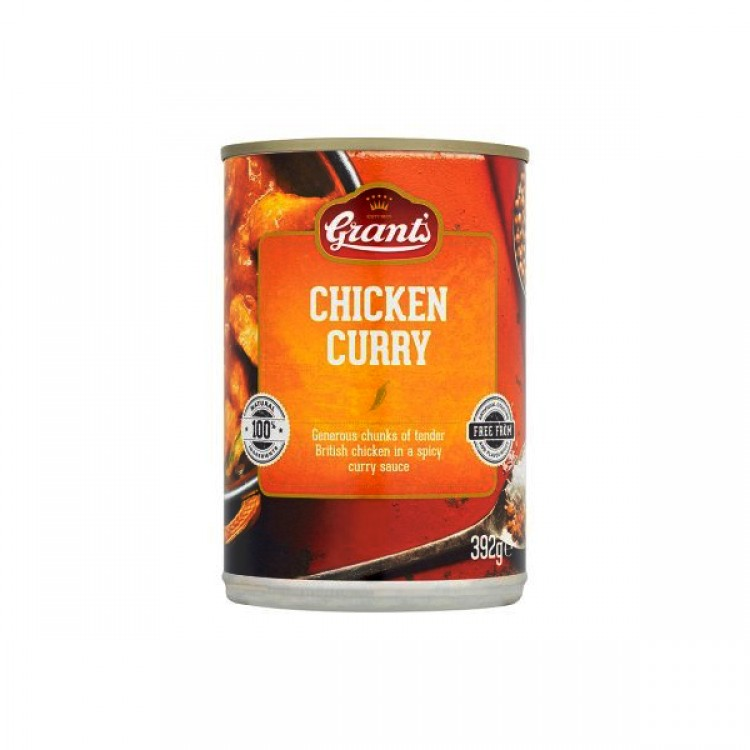 Grants Chicken Curry 392g