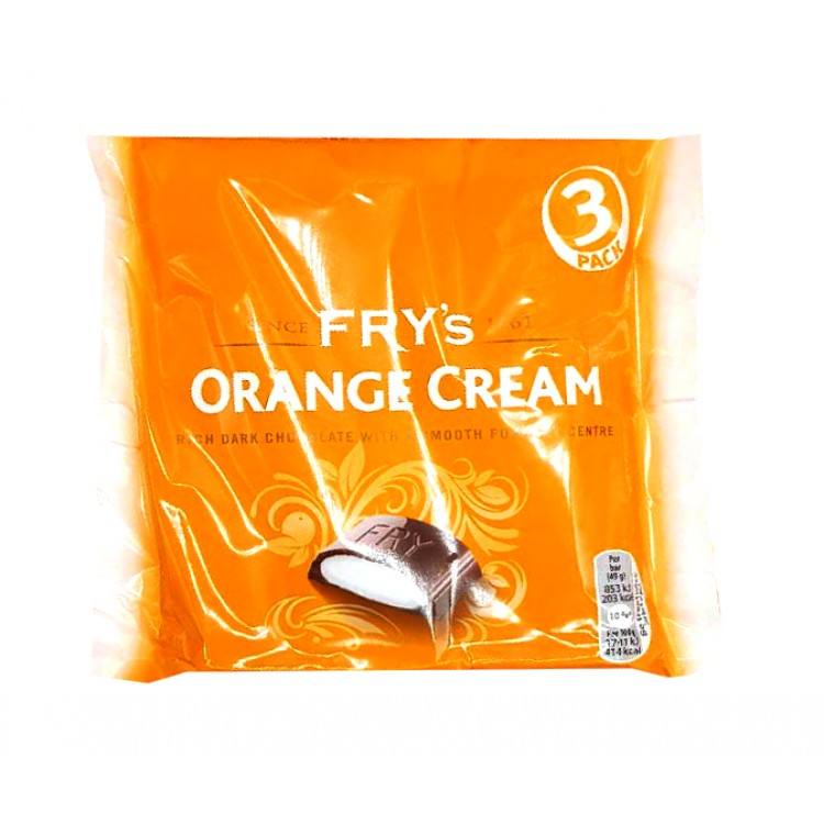 Frys Chocolate Orange Cream 3 pk