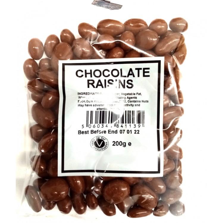 Chocolate Raisin 200g