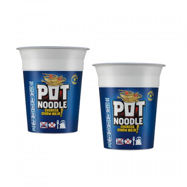 Pot Noodle Chinese Chow Mein 90g - 2 For £1