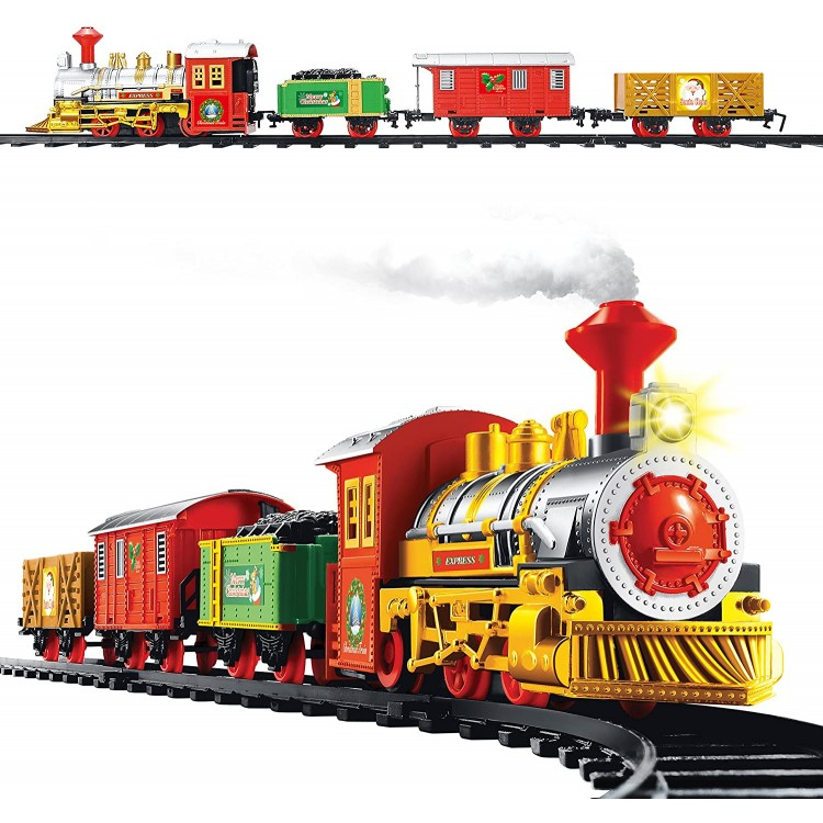 The Christmas Workshop Deluxe Santa Express Delivery Christmas Train Set