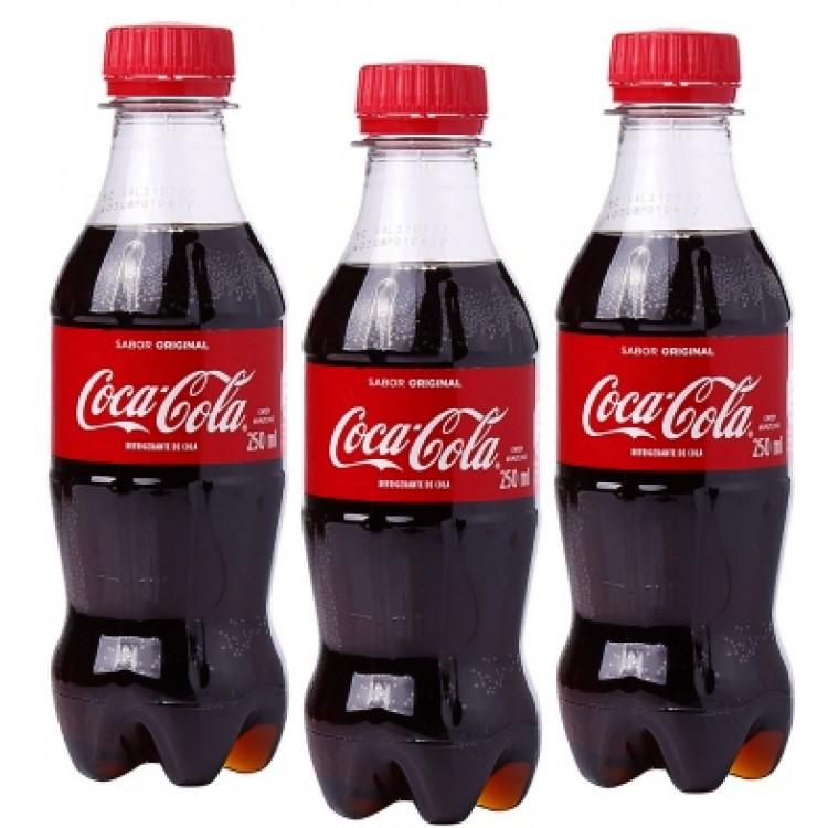 Coca Cola Original Bottled Drinks 250ml 3 For £1