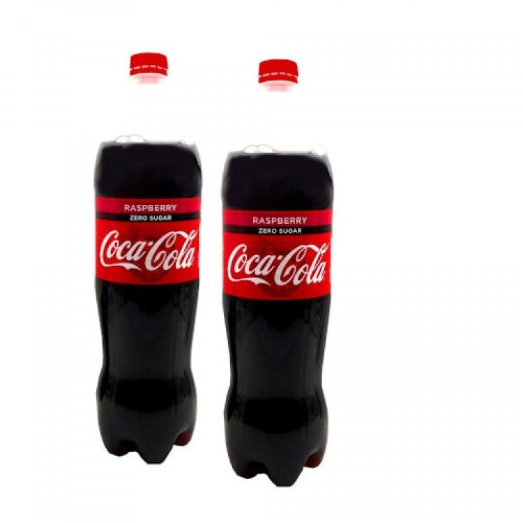 Coca Cola Raspberry Zero Sugar 1.25l - 2 For £1.50