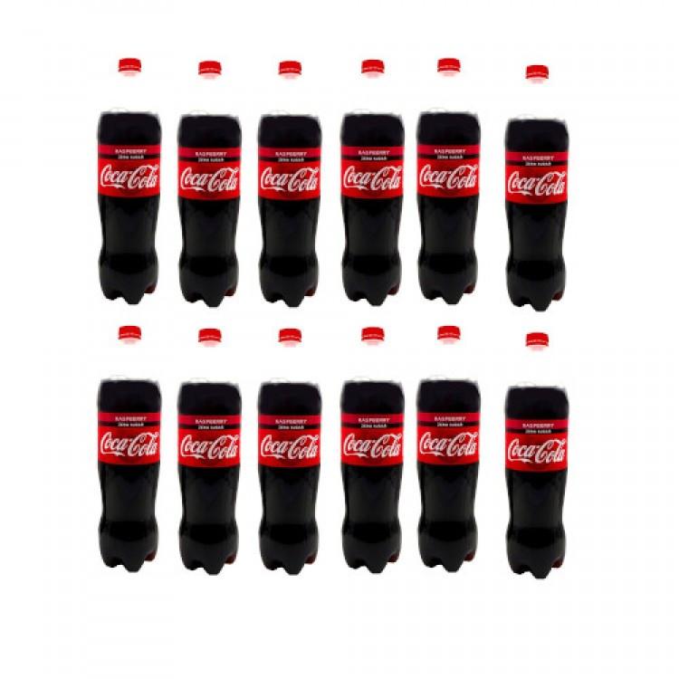 Coca Cola Raspberry Zero Sugar 1.25l x 12 Bottles- CASE PRICE