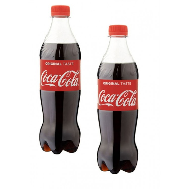 Coca Cola Original 500ml - 2 For £1.50