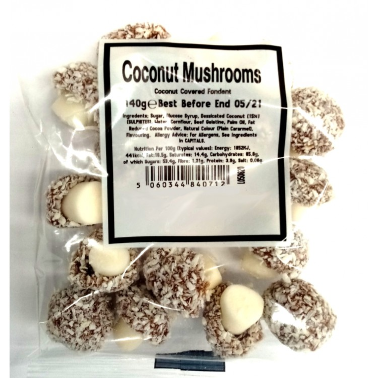 Coconut Mushrooms 140g