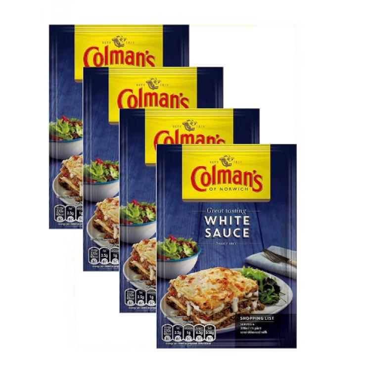 Colmans White Sauce Mix Sachet 40g - 4 For £1